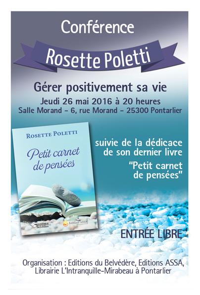 Conf�rence Rosette Poletti